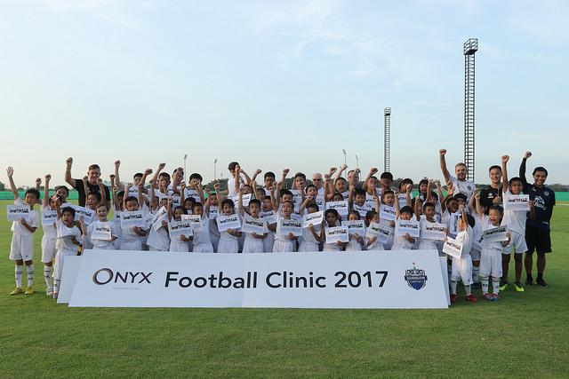 onyx hospitality group football clinic